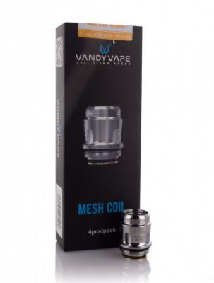 Atomizor Vandy Vape™ Compatibil Jakaroo Trident Swell Bumbac Natural Mesh 80 foto