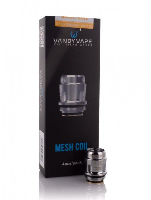 Atomizor Vandy Vape™ Compatibil Jakaroo Trident Swell Bumbac Natural Mesh 80