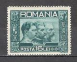 Romania.1931 Cei trei Regi  ZR.27, Nestampilat