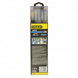 Set 100 lame Bi-Metal HSS Stanley 300mm - 1-15-558