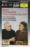 Caseta Mozart / Berliner Philharmoniker, Anne-Sophie Mutter Violin Concertos