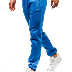 Pantaloni sportivi pentru bărbat albaștri Bolf AK70A