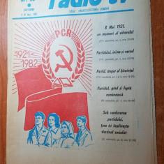 revista radio-tv saptamana 2-8 mai 1982