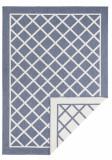 Covor Modern & Geometric Twin Supreme, Albastru, 80x250, Bougari