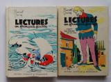 Marcel Saras - Lectures En Francais Facile Nr. 21 + 23 din 1970, cu ilustratii