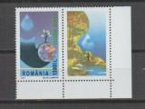 ROMANIA 2001 LP 1550 EUROPA CEPT,  SERIE NESTAMPILTA CU VINIETA, Nestampilat