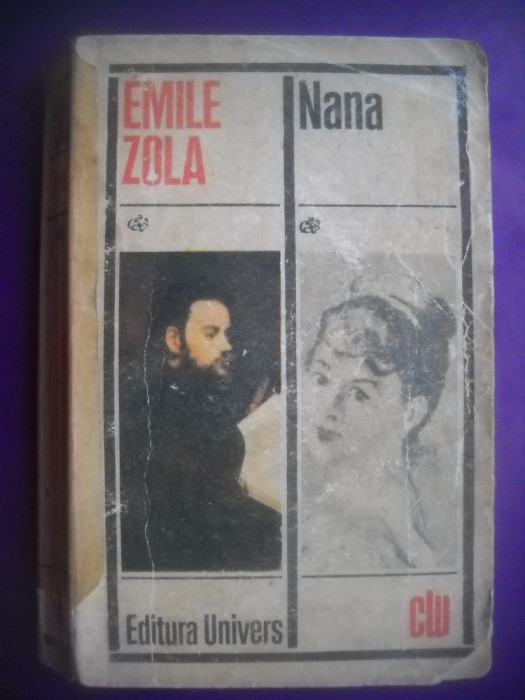 HOPCT  NANA / EMILE ZOLA  - 1972 -436   PAGINI