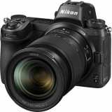 Aparat foto Mirrorless Nikon Z6, Full-Frame, 24.5 MP, 4K, Wi-Fi + Obiectiv 24-70mm f/4 (Negru)