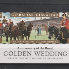 Aniversare regala ,cai,calarie,Gibraltar., Regi, Nestampilat