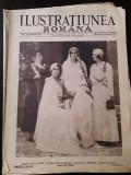 Revista Ilustratiunea romana 5 august 1931 Regina Maria nunta princiara Sinaia