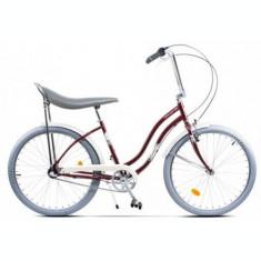 Bicicleta Pegas Strada 2 OTEL 3S 2017, Cadru 17inch, Roti 26inch, 3 Viteze (Visiniu)
