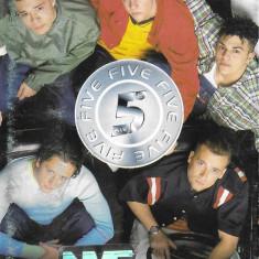 Caseta  Five – Five, originala, holograma, electronica