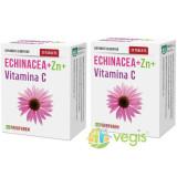 Echinacea + Zinc + Vitamina C 30cps Pachet 1+1