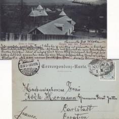 Revna, Rewna ( Bucovina )-  rara-clasica -edit. Leon Konig, Circulata, Printata