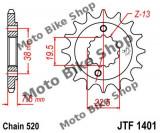 MBS Pinion fata Z14 520 Kawasaki KFX400/Suzuki LT-R450/LT-Z400, JTF1401.14, Cod Produs: 7263692MA