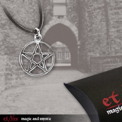 Pandantiv argint Pentagrama mica foto
