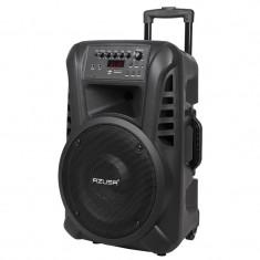 Sistem Portabil SD Bluetooth USB 12 Inch 20W cu microfon Karaoke Garantie 2 ani
