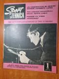 """sport si tehnica ianuarie 1971-kartul romanesc """"pioner 4"""",aviatia de amatori"""