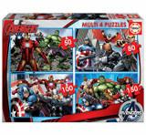 Cumpara ieftin Puzzle multi Avengers, 50-80-100-150 piese, Educa