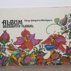 ALBUM DECORATIV FLORAL de ELENA STANESCU-BATRANESCU 1981