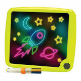 Tablita de desen cu lumini Micul Artist - Glow Pad