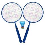 Rachete badminton albastru,cu fluturas albastru