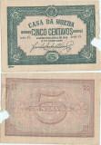 1918 (5 IV), 5 centavos (P-97) - Portugalia (Lisabona)!