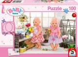 Cumpara ieftin Puzzle Florarie, 100 piese, Schmidt