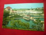 Ilustrata Baia Ocna -Ocna Sibiului -Lacurile Horia ,Closca si Crisan ,circ.1929