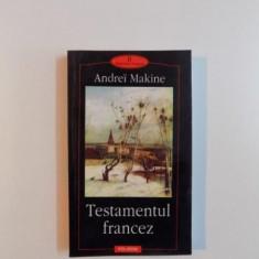TESTAMENTUL FRANCEZ de ANDREI MAKINE , 2002