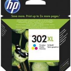 Cartus cerneala HP 302XL, acoperire 330 pagini (Color)