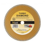 Disc diamantat turbo, taiere beton, piatra, granit Wert W2712-115 O115x22.2 mm