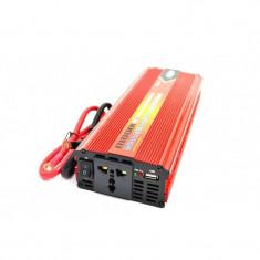 Invertor profesional 1000W cuplare la baterie