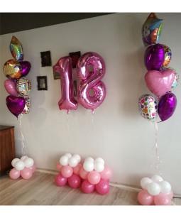 Baloane umflate cu heliu !!!