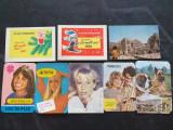 8 calendare de buzunar ,anii '80