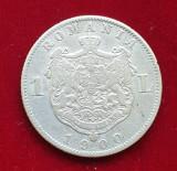 Moneda din argint 1 Leu 1900 - Romania Regat