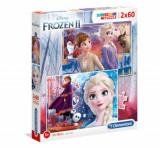 Cumpara ieftin Puzzle Super Color Frozen 2, 2x60 piese