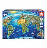 Cumpara ieftin Puzzle Miniature, 1000 piese, Educa