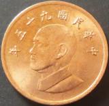Moneda 1 YUAN - TAIWAN, anul 2006 *cod 5208 = a.UNC, Asia