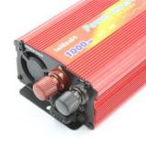 Invertor Auto 12V- to 220V~/50Hz, putere 1000W