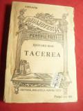 Edouard Rod - Tacerea - BPT 1183-1184  cca.1945  Ed.BPT, 209pag