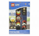 LEGO City, Ceas cu minifigurina pompier