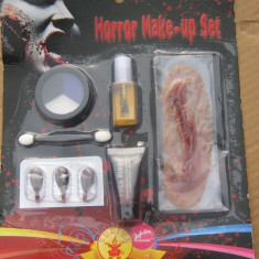 Set make up horror Halloween