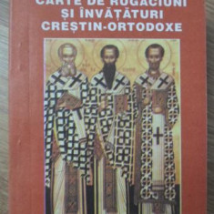 CARTE DE RUGACIUNI SI INVATATURI CRESTIN-ORTODOXE-PR. ANATOLIE GONCEAR