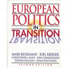 European Politics in Transition - Mark Kesselman, Joel Krieger