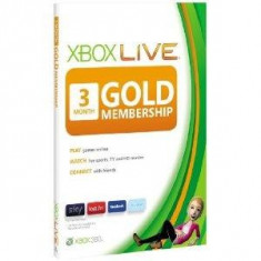 Xbox Live Gold Card Membership ( 3 luni) Xbox One / Xbox 360