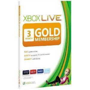 Xbox Live Gold Card Membership ( 3 luni) Xbox One / Xbox 360