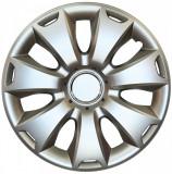 Set capace roti 16 inch tip Ford, culoare Silver 16-417
