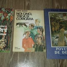 12 CARTI DE POVESTI PENTRU COPII DIN ANII '80 SI '90-PERIOADA COMUNISTA