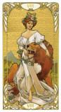 Tarotul de Aur ARTA NOUVEAU-Carti Tarot ed lim lux(aurii complet)-SIGIL-LIVR IMD